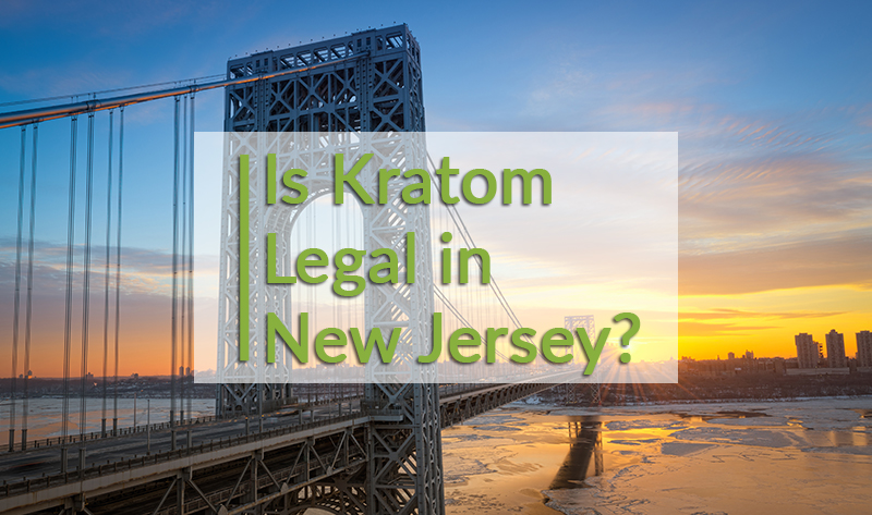 Is kratom legal in New Jersey